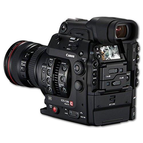 Canon EOS C300 Mark II Blickschutzfolie - atFoliX FX-Undercover 4-Wege Sichtschutz Blickschutzfilter Displayschutzfolie