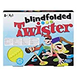 Hasbro gaming- Twister Blindfolded Jeu de Société, E1888, Multicolore