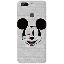 CHUNGROO Designer Soft Silicon Mobile Phone Back Case Cover for Infocus Vision 3 Pro