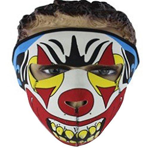 Lmeno Schädel Skelett Gesichtsmaske Ghost Style Balaclava Schädel Skelett Maske Motorrad Radfahren Cosply Kostüm Sport Ski Skifahren Snowboard Snowmobile - Typ (Kostüm Orange Herr)