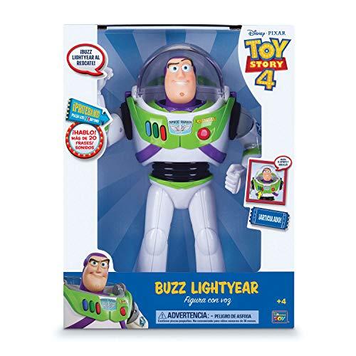 Toy Story Figura Buzz Lightyear con voz 30 cm (BIZAK 61234070)