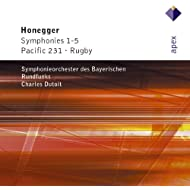 Honegger : Symphonies Nos 1 - 5, Pacific 231 & Rugby - Apex