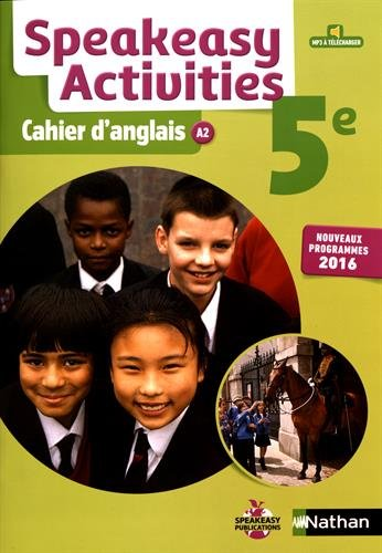 Speakeasy Activities 5e : Cahier d'anglais A2