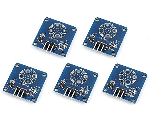 ARCELI FAI DA TE 5 PZ TTP223B Digital Touch Capacitivo Modulo Interruttore Sensore per Arduino