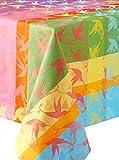 Garnier-Thiebaut 28353 MILLE COLIBRIS Nappe Coton Antilles 300 x 180 cm
