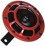 Hella Stark Sonido Horn–109.23.37–Rojo Juego 12V de Alto/bajo Tono Stark Cuerno de Set B 133, 12V de