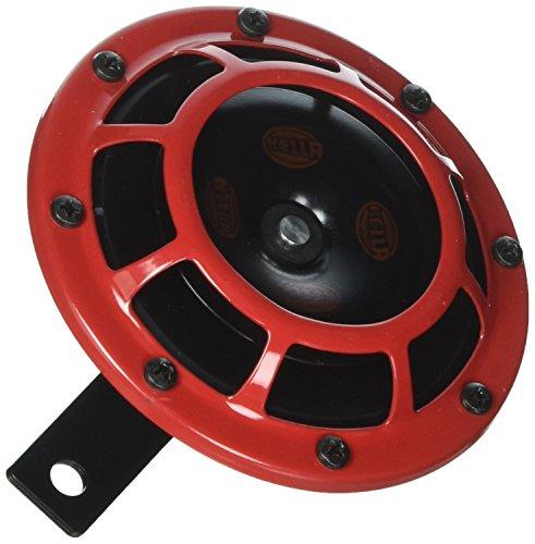 """Preisvergleich Produktbild Starktonhorn - 109.23.37 - Rot Set 12V Hoch / Tiefton Hella Starktonhorn-Set B 133,  12 Volt """"vom Hersteller eingestellt"""""""