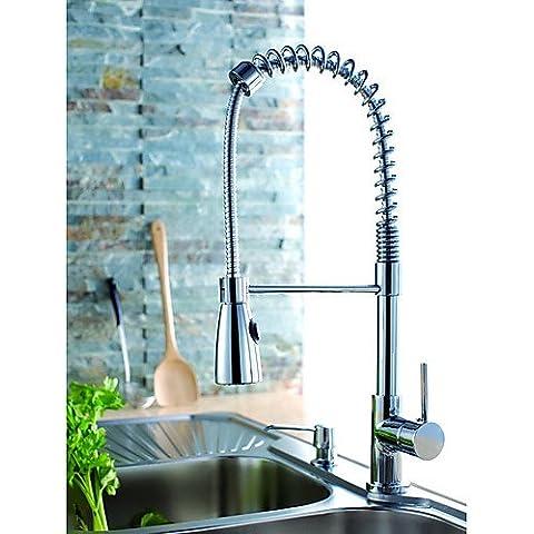 - Primavera - rubinetto da cucina HOSEE in ottone cromato