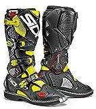 Sidi Crossfire 2 Stivali da Moto, Giallo Fluo/Nero, 45
