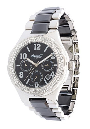 Ingersoll Women Watch Monroe Limited Edition silver IN7201BK