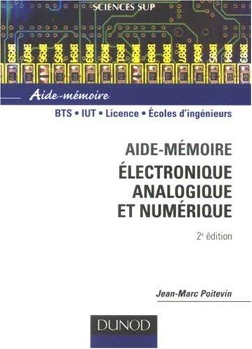 Aide-mémoire électronique, analogique et numérique