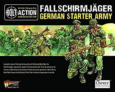 Fallschirmjager German Starter Army - Bolt Action Warlord Games - 28mm Minatures WWII Table Top Game by Warlord