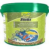 TETRA Pond Sticks - Aliment Complet en sticks pour Poisson de Bassin - 10L