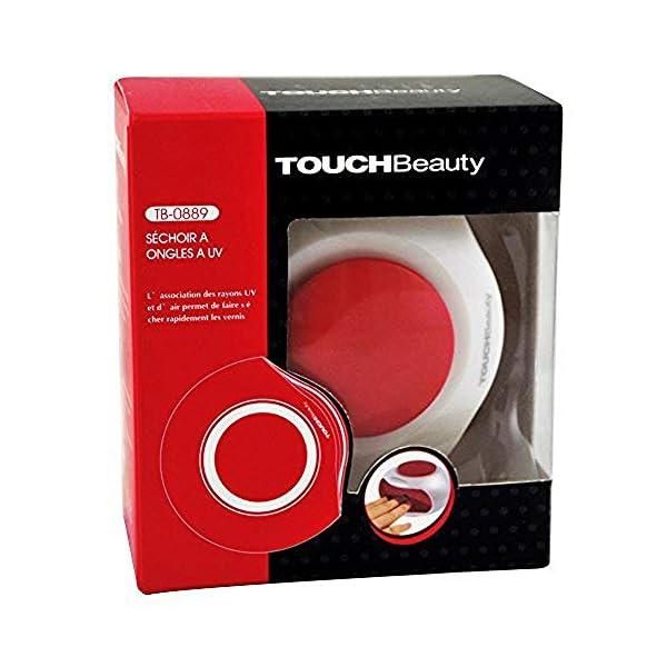 Beauty Touch AS-0889 – Secador de Uñas UV, color Rosa