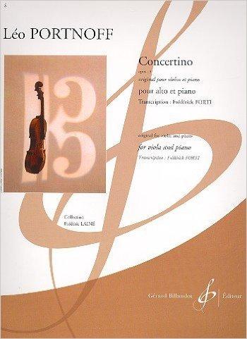 Concertino Opus 13 par Portnoff Léo