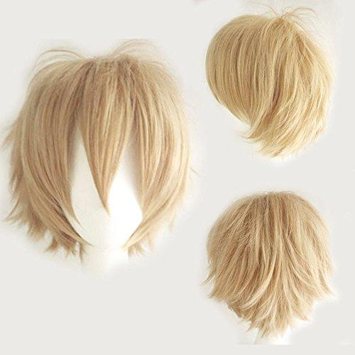 nd Anime Wig Kunsthaar Perrücken Frauen Karnevalsperücke Fasching günstig Wigs (Anime Perücken)