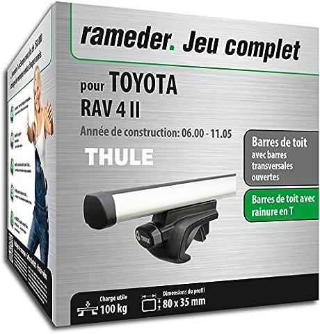 Pack Rameder barres de toit ProBar pour TOYOTA RAV 4 II (115507-04649-101-FR)