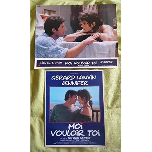 10 photos couleurs (24 cm x 30 cm) + dossier de presse de Moi vouloir toi (1985), film réalisé par Patrick Dewolf avec Gérard Lanvin - Bon état.