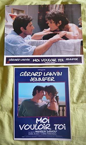 10 photos couleurs (24 cm x 30 cm) + dossier de presse de Moi vouloir toi (1985), film réalisé par Patrick Dewolf avec Gérard Lanvin - Bon état. par Patrick Dewolf
