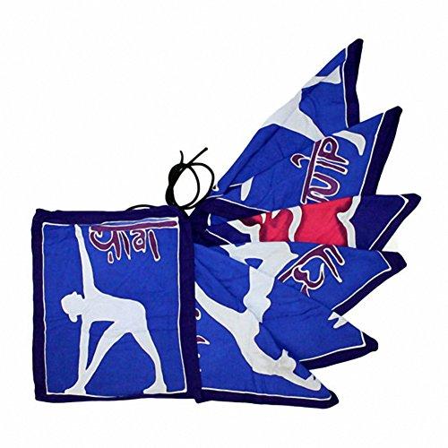 Yoga-sept drapeaux Moves. Dimensions : 32 cm x 23 cm, le cadeau Parfait-Idéal pour les anniversaires, Christmas......