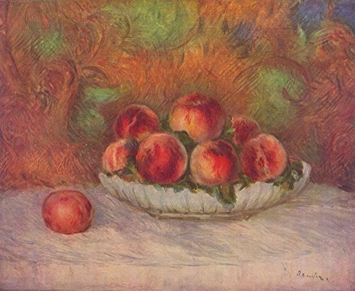 Pierre Auguste Renoir - Still Life Peaches - Extra Large - Matte Print