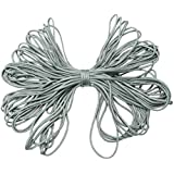 SODIAL(R) Parachute Rope - SODIAL (R) 30.5 M / 100 FT Parachute 7 Strand Parachute Lanyard Rope Outdoor Emergency Survival Tool Gray