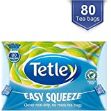 Tetley Facile Sacs Squeeze Thé (80) - Paquet de 6