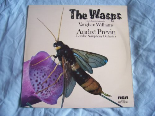 SB 6868 Vaughan Williams Wasps London Symphony Andre Previn LP (Vaughan Williams London Symphony)