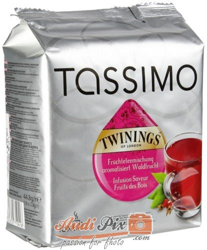 Tassimo Twinings Früchteteemischung aromatisiert Waldfrucht
