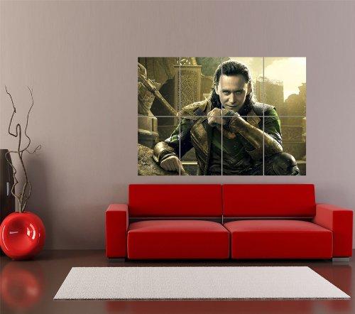 TOM HIDDLESTON THOR LOKI MOVIE FILM GIANT ART PRINT HOME DECOR POSTER PLAKAT DRUCK OZ2917