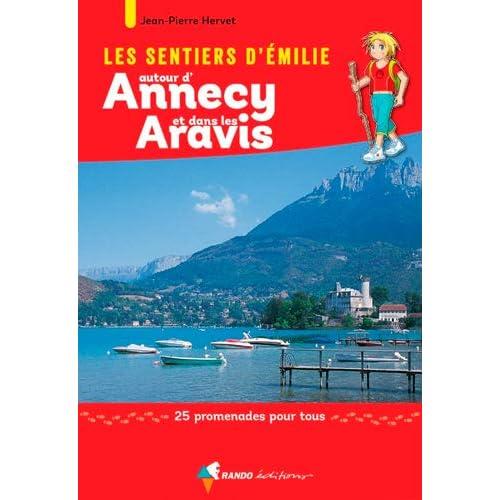 EMILIE AUTOUR D'ANNECY ET DANS LES ARAVIS