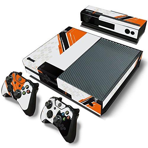 Preisvergleich Produktbild zoomhit Xbox One Konsole Sticker Decal Aufkleber + 2 Controller & Kinect Skins Set TitanFall