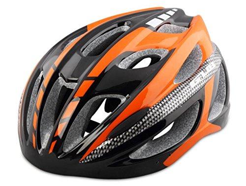 LHRain strada di montagna casco della bici apparecchiature andare in bicicletta integralmente modellato con gli uomini e le donne del cappello ( colore : 6# )