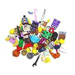 Bausteine-gebraucht-10-x-LEGO-Sistema-Figure-Town-City-Mini-Figura-con-accessori-uomo-donna-zufllig-misto