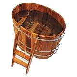 Sauna Tauchbecken | Kambala Tauchbottich oval