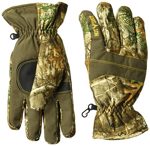 Hot Shot Men's Defender Gloves, Realtree Edge, Medium