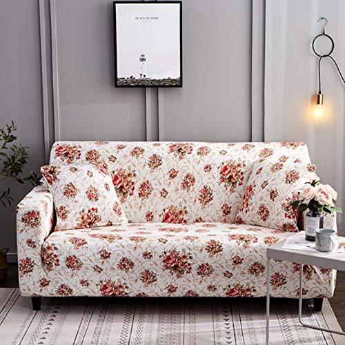 Sofa-Überwürfe Protector Sofabezug Stretch Hussen Für Sessel Sofabezüge Für Wohnzimmer Sofabezüge Günstige Sofabezug Sofa Se Rote Blütenblätter