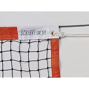 Schiavi sport–Art 3338, Netz BEACH TENNIS Kordel [sortiert]