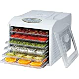 GOGOBEST Food Dryer, Household Medicinal Herbs, Fruit and Vegetable Dehydrator, 6 Layers of