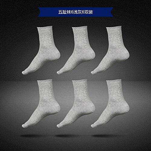 ZHFC-wuzhi strümpfe und socken für männer bei männlichen tunnelsocken fünf zehensocken deodorization socken im herbst,6 paar licht laden
