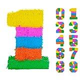 Fax Pommes de Terre Numéro 1 Pinata - 50 x 7,5 x 35 cm - Arc-en-