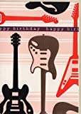 Geburtstagskarte Gitarren happy birthday