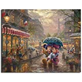 VNYU® Creative Puzzles Paris Thomas Kinkade Cartoon Paintings Jigsaw Puzzle 1000 stuk Iq Challenge Memory Games