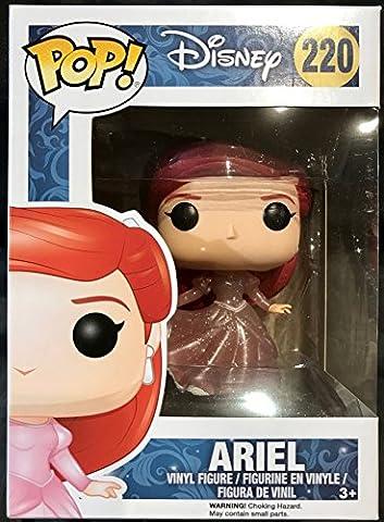 Funko - Figurine Disney - Ariel Robe De Bal Glitter Exclu Pop 10cm - 0889698117852