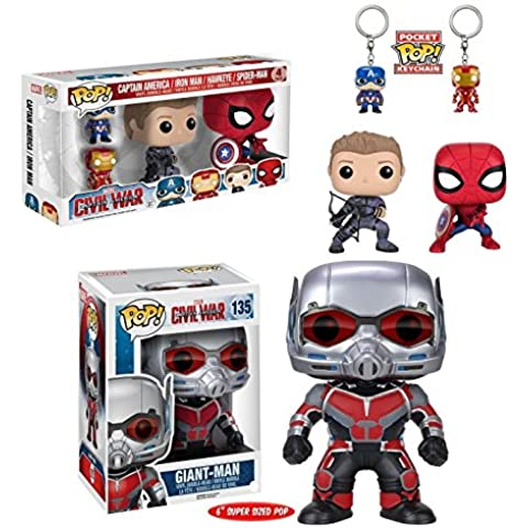 Funko POP! Captain America: Civil War - Captain America +