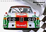 Motorsport in 1/32 (Tischkalender 2019 DIN A5 quer): Kleine Autos groß in Szene gesetzt (Monatskalender, 14 Seiten ) (CALVENDO Mobilitaet)