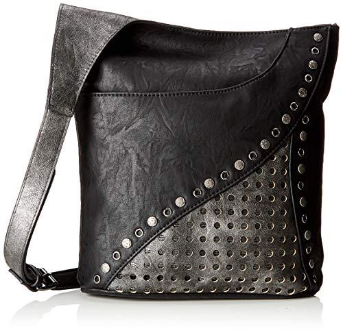 Rieker Damen H1403 Tasche, 10x30x30 cm