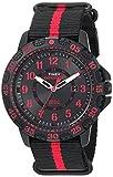 Timex Expedition Gallatin Slip-Thru Watch - Black/Red
