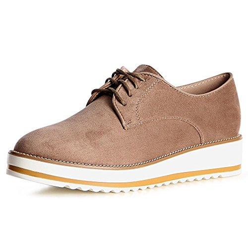 topschuhe24, Sneaker donna cachi