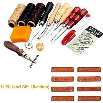 14x Set von Leder Näh Garn Nadeln Werkzeug für Nähmaschinen von Handwerk ONE Antiquitäten & Kunst